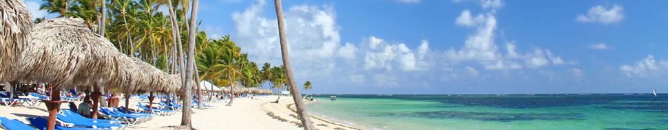 Eine Trauminsel in der Karibik