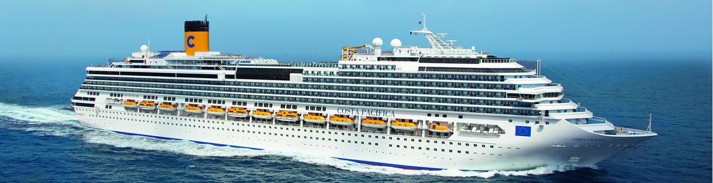 Kategorien Und Kabinen Des Schiffs Costa Pacifica