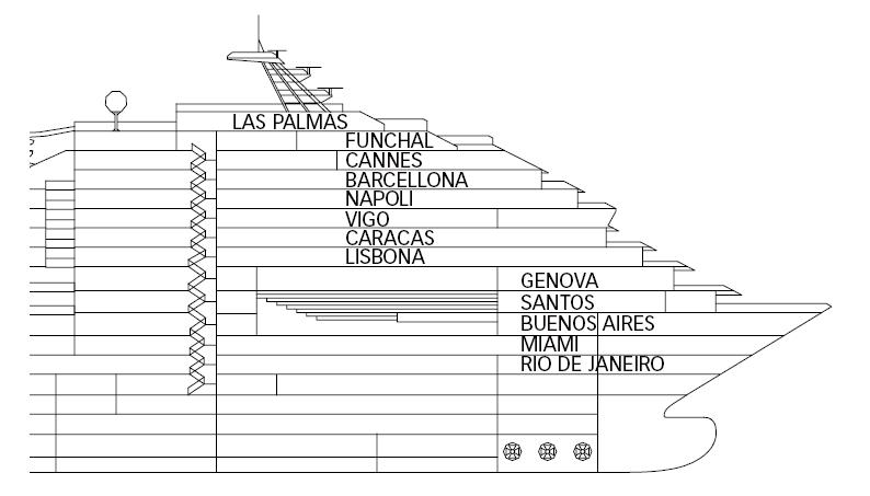 Kategorien Und Kabinen Des Schiffs Costa Fortuna Costa