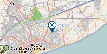 Flughafen von Accra