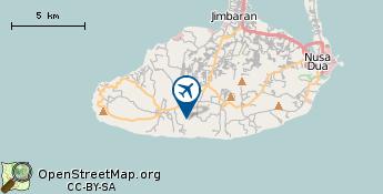 Flughafen von Denpasar Bali