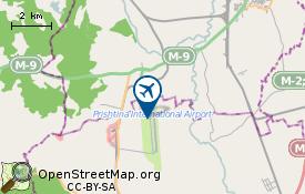 Flughafen von Pristina