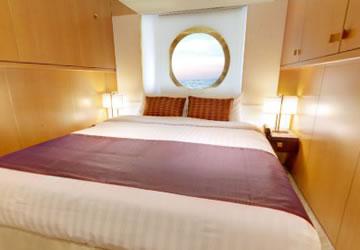 Kategorien und kabinen des schiffs costa neoromantica for Chambre quadruple costa magica