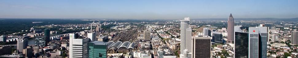 Die deutsche Stadt der Wolkenkratzer