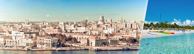 Kuba: Havanna und Varadero, frei verfügbarer aufenthalt am strand