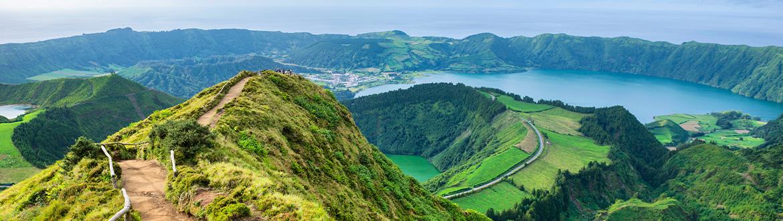Portugal (Azoren): Route durch die Insel San Miguel, auf eigene ...