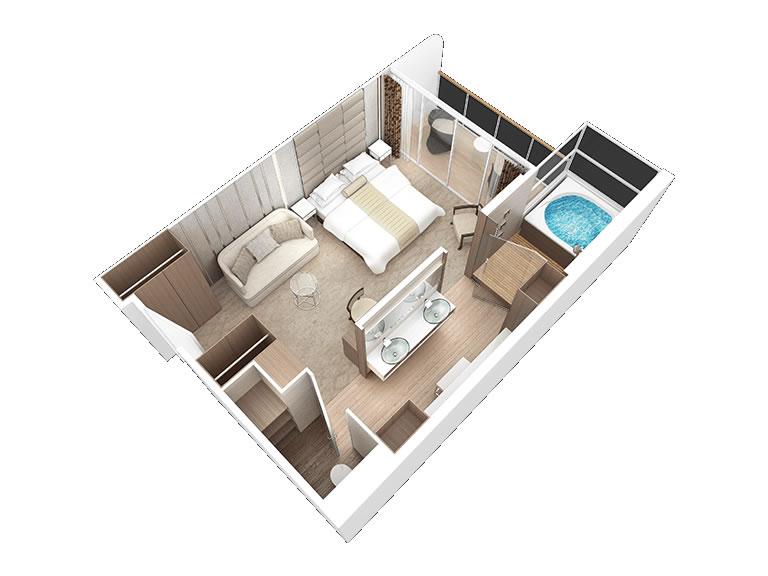 Kategorien Und Kabinen Des Schiffs Azamara Quest Club Cruises Logitravelde