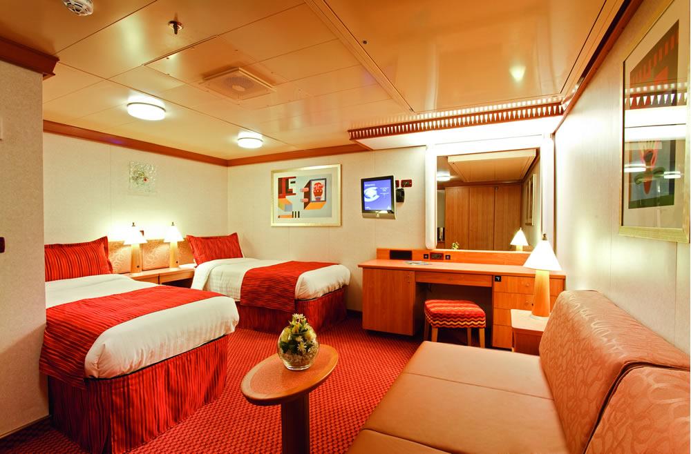 kategorien und kabinen des schiffs costa luminosa, costa