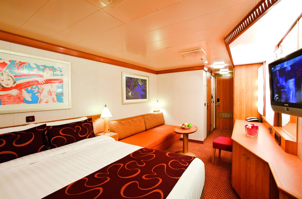 kategorien und kabinen des schiffs costa pacifica costa