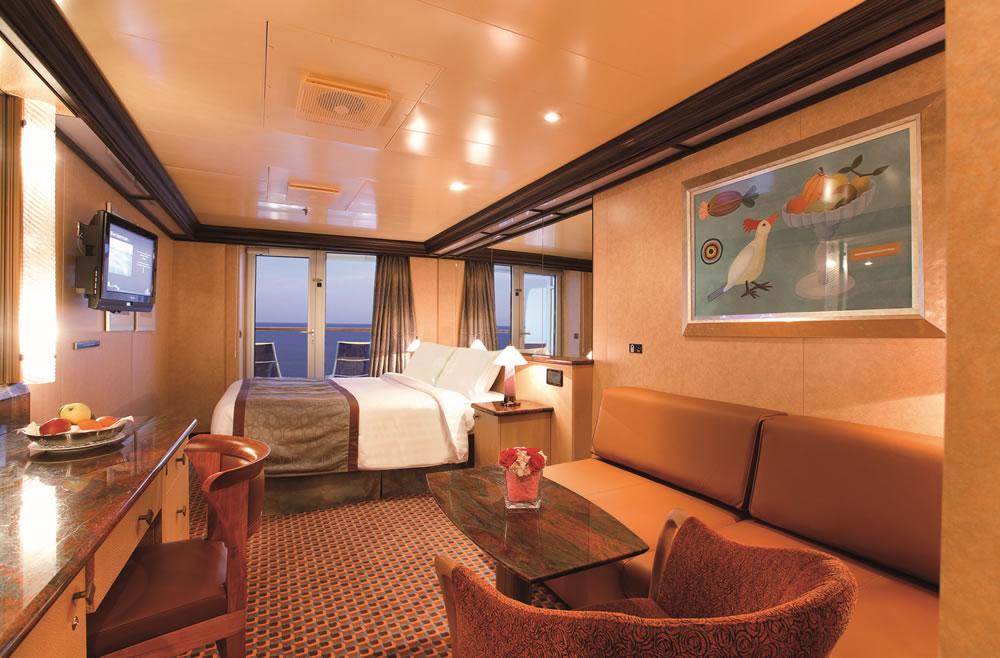 kategorien und kabinen des schiffs costa deliziosa, costa