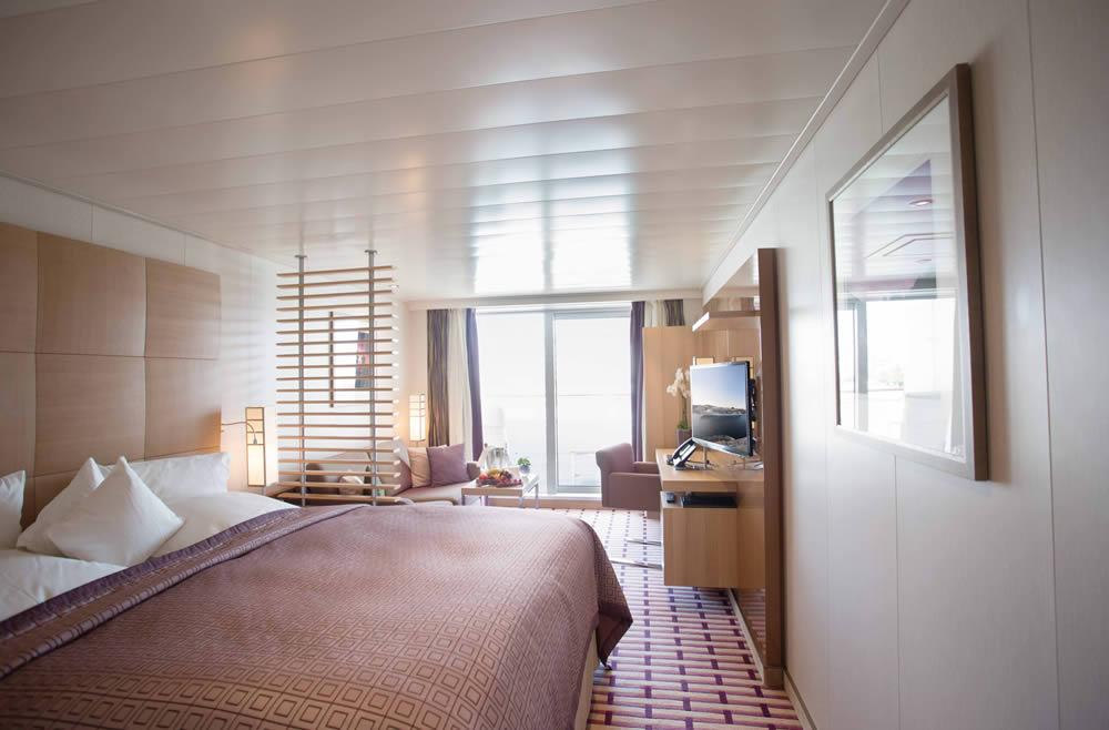 Kategorien und Kabinen des Schiffs MS Europa 2, Hapag Lloyd ...