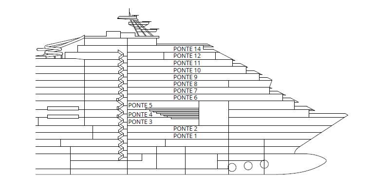 Kategorien und kabinen des schiffs costa venezia costa for Chambre quadruple costa magica