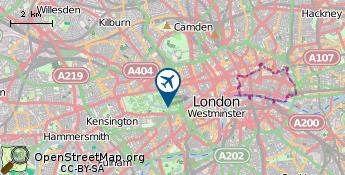 Flughafen von London
