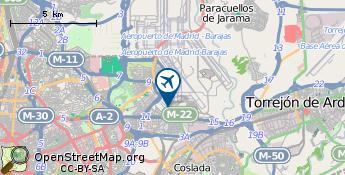 Flughafen von Madrid