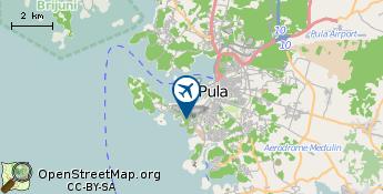 Flughafen von Pula