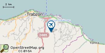 Flughafen von Trabzon