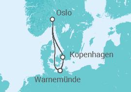 kreuzfahrt kurzreise ab warnem nde 1 ab 599 schiff