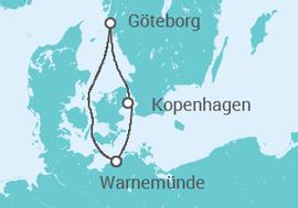 kurzreise ab warnem nde 4 kreuzfahrt ab 570 schiff