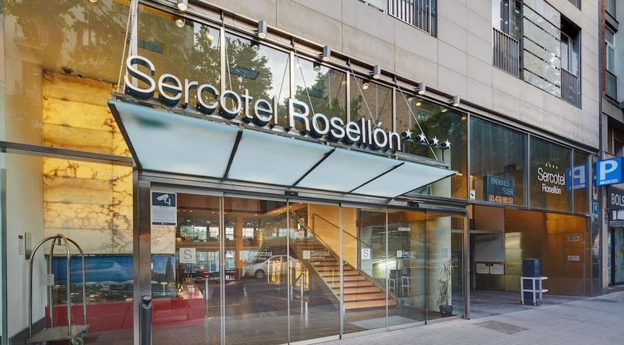 Ayre Hotel Rosellon Barcelona Ab 33 Logitravel